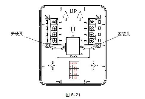 gst-ld-8318海湾紧急启停按钮安装接线示意图
