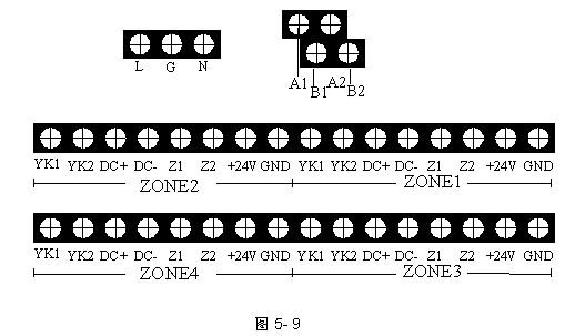 32个汉字信息; 7、容量 GST-QKP04可带4个区的气体灭火设备,实现对4个防护区的保护;GST-QKP04/2可带2个区的气体灭火设备,实现对2个防护区的保护。其中每个区所带设备及数量如下: 电磁阀:1个,额定电压DC24V,最大电流2A; 压力开关:1个,常开触点,动作时闭合; 声光警报器:1~10个,编码地址范围1~10; 气体喷洒指示灯:1~6个,编码地址范围11~20; 紧急启/停按钮和手自动转换开关:共1~10个,编码地址范围21~30; 输出模块:1~6个,编码地址范围31~40。 G