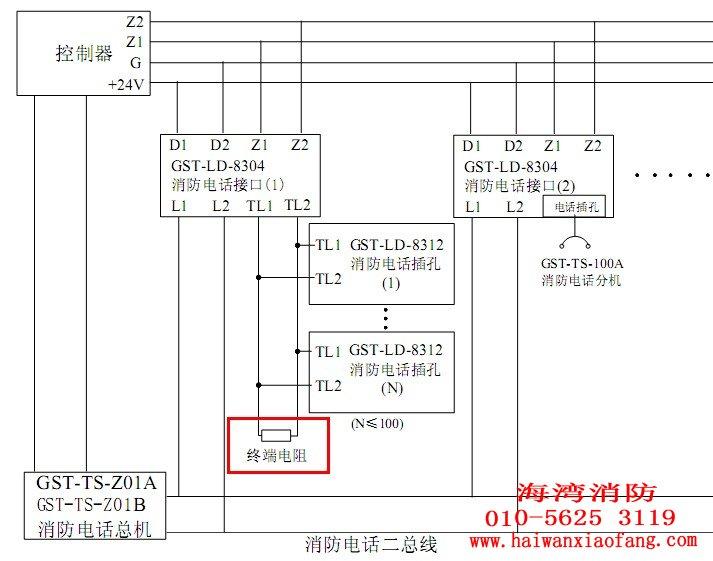 7kΩ终端电阻